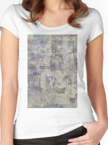 abstract painting background Women's Fitted Scoop T-Shirt