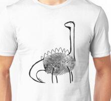 Finger Print Dinosaur (Linda) Unisex T-Shirt
