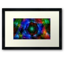 Core Fragment Framed Print