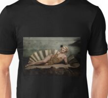 The birth of venus -in vintage showgirl style- no.2 Unisex T-Shirt