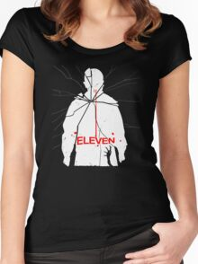 Eleven Carrie Parody Women's Fitted Scoop T-Shirt