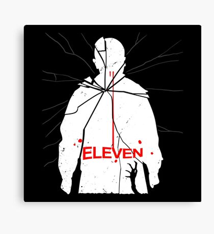 Eleven Carrie Parody Canvas Print