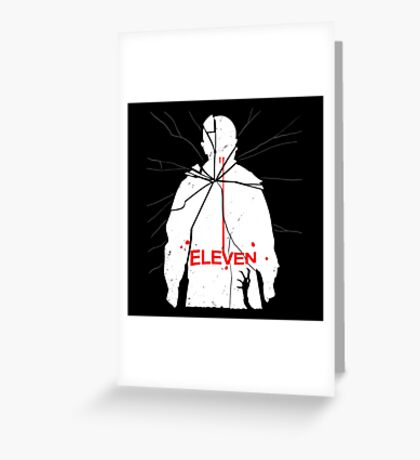 Eleven Carrie Parody Greeting Card