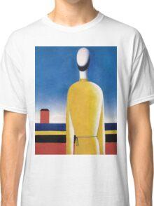 Kazemir Malevich - Half-Figure In Yellow Shirt Classic T-Shirt