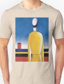 Kazemir Malevich - Half-Figure In Yellow Shirt Unisex T-Shirt
