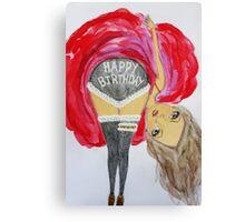 Happy Birthday To You Canvas Print