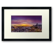 Dawn At Steppe Framed Print