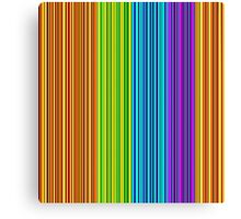 Colorful lines pattern Canvas Print