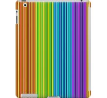 Colorful lines pattern iPad Case/Skin