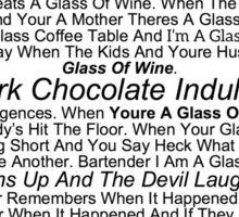 Im A Glass Of Wine Sticker