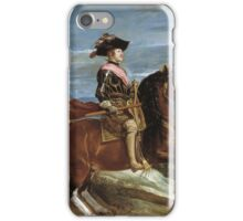 Velazquez - King iPhone Case/Skin