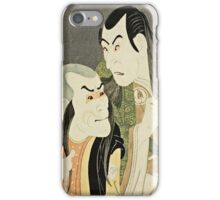Toshusai Sharaku - The Actors Sawamura Yodogoro  iPhone Case/Skin
