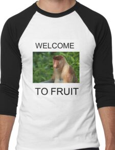 WELCOME TO FRUIT Men's Baseball ¾ T-Shirt