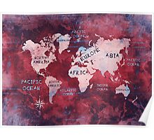 world map 16 Poster
