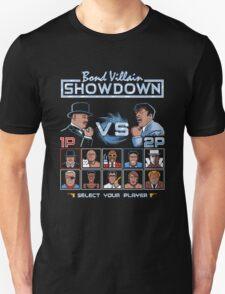 Bond Villain Showdown T-Shirt