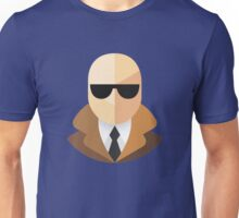 White Secret Agent Unisex T-Shirt