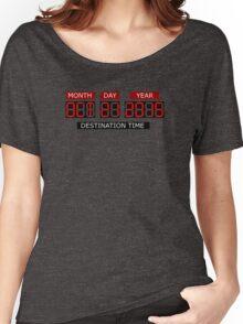 Oct 21st 2015 – BTTF, October Women's Relaxed Fit T-Shirt