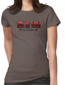 Oct 21st 2015 – BTTF, October Womens Fitted T-Shirt