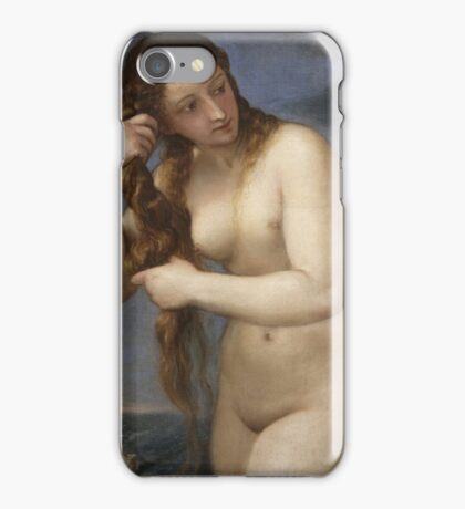 Titian - Venus Rising from the Sea iPhone Case/Skin