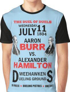 Burr Vs Hamilton Graphic T-Shirt