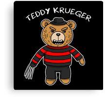 Teddy krueger Canvas Print