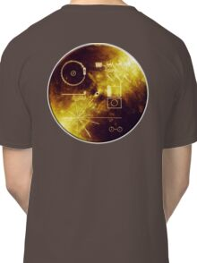 VOYAGER, Golden Record, Spacecraft, Message to Aliens Classic T-Shirt