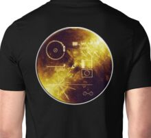 VOYAGER, Golden Record, Spacecraft, Message to Aliens Unisex T-Shirt