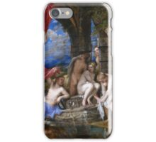 Titian - Diana And Actaeon - 1556-1559 iPhone Case/Skin