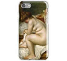 Renoir Auguste - Woman After Bath (1896)  iPhone Case/Skin