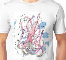 Splashy Squid Unisex T-Shirt