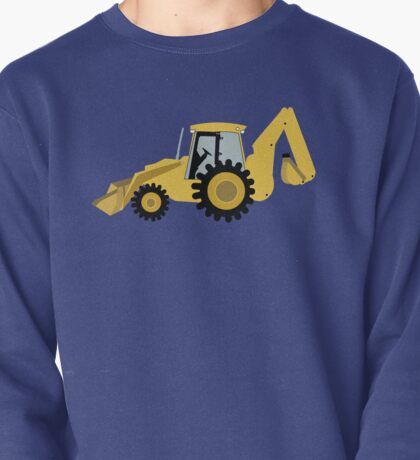 Construction Backhoe Digger Pullover