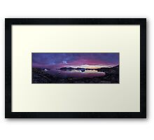 After light  Framed Print