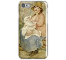Renoir Auguste - Maternity (1885)  iPhone Case/Skin