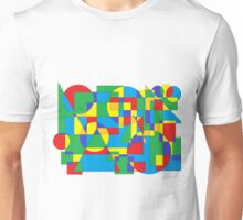 abstract paint art forms and colors Unisex T-Shirt