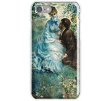 Renoir Auguste - Lovers  iPhone Case/Skin
