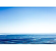 The ocean is like.. Photographic Print