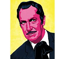 Vincent Price portrait Photographic Print