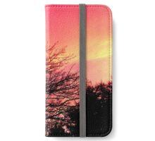 December skies iPhone Wallet/Case/Skin