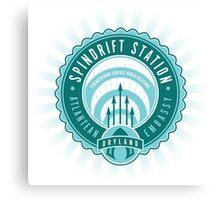 Spindrift Station Atlantean Embassy Canvas Print