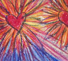 Hearts of Love Sticker