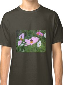 Bumble Bee on Cosmos Flower Classic T-Shirt