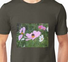Bumble Bee on Cosmos Flower Unisex T-Shirt