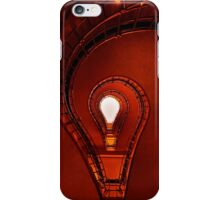 The lightbulb staircase iPhone Case/Skin