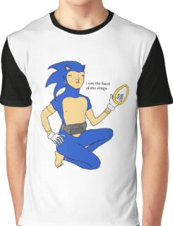 Sonic The Lord Of The Rings Graphic T-Shirt