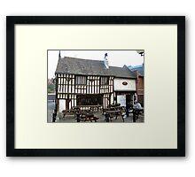Old Queens Head, Sheffield Framed Print