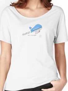 Music is my aero-plane Women's Relaxed Fit T-Shirt