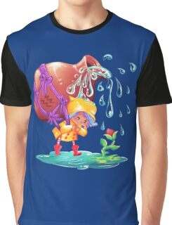 Aquarius The Water Giver Graphic T-Shirt