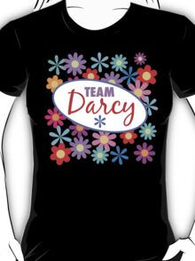 Team Darcy Flower Power T-Shirt