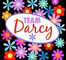 Team Darcy Flower Power by Sue Cervenka