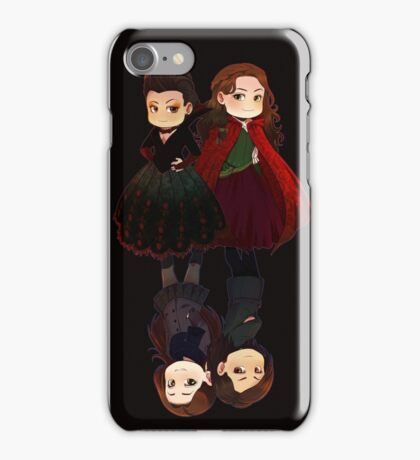 DUAL Red Queen iPhone Case/Skin